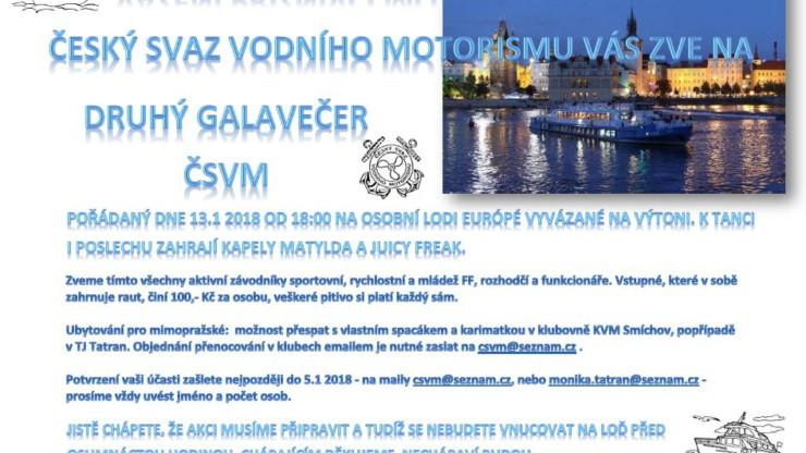 II. Galavečer ČSVM