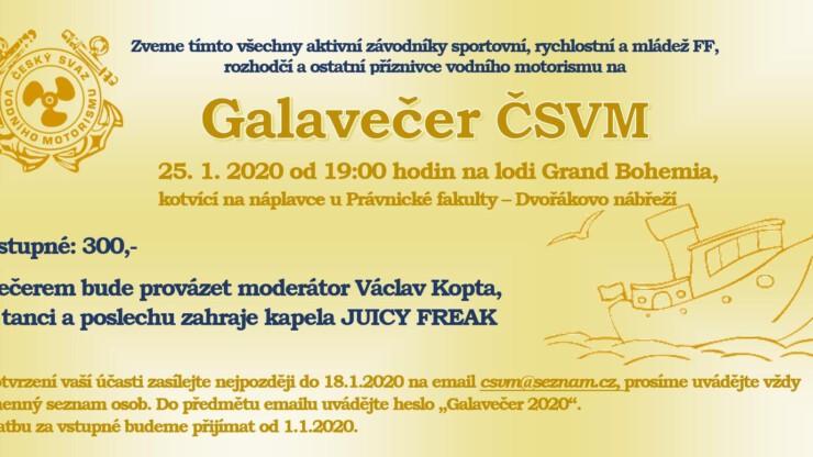 Galavečer ČSVM 2020